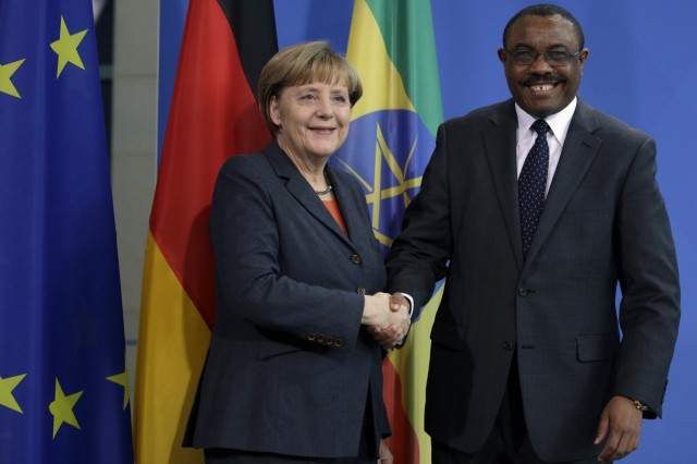 Angela Merkel, Hailemariam Desalegn
