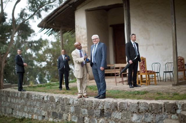 Außenminister Steinmeier in Äthiopien
