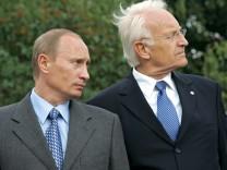 Putin empfängt Stoiber