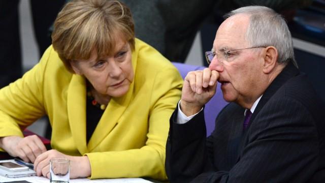 Angela Merkel, Wolfgang Schäuble