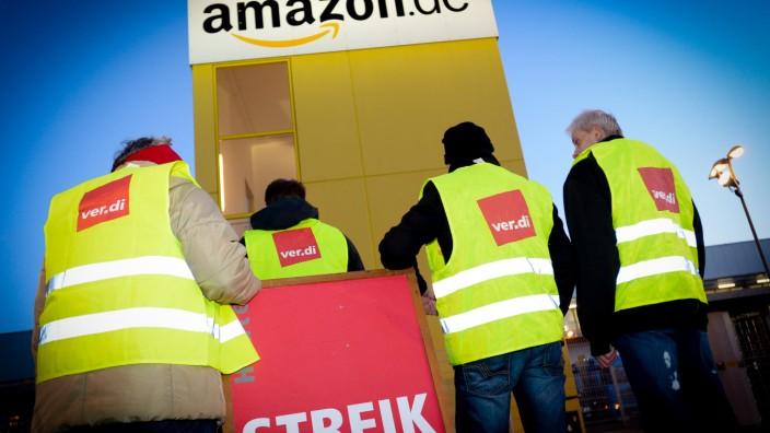 Verdi ruft auch bei Amazon in Leipzig zum Streik auf