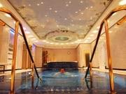 Swimmingpool im Berliner Hotel Ritz-Carlton, ddp