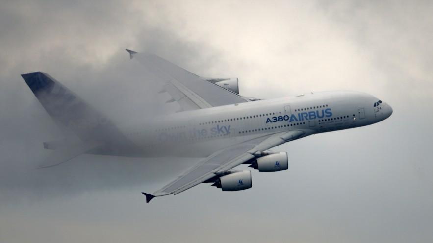 Triebwerkteil des A380 unter Verdacht