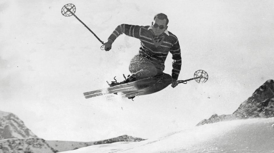 Switzerland Winter; Skihistorie