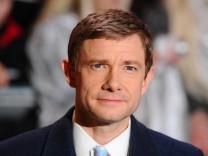 Ob als Hobbit, Dr. Watson oder auf dem roten Teppich: Martin Freeman macht stets eine gute Figur.