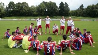 Aschheim: FUSSBALL BUNDESLIGA U17 - FC Bayern v 1.l FC Saarbrücken