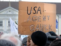 Demonstration gegen Krieg