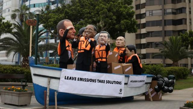Klimagipfel UN-Gipfel in Lima