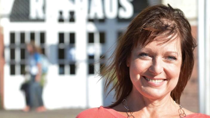 Gabriele Pauli bei der Bürgermeisterwahl auf Sylt