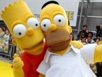 Homer und Bart Simpson