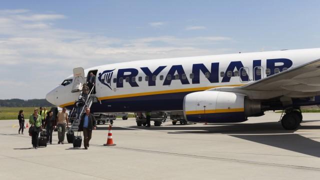 Flughafen München Umzugspläne von Ryanair