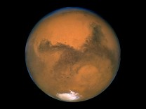 NASA Hubble Space Telescope picture of Mars