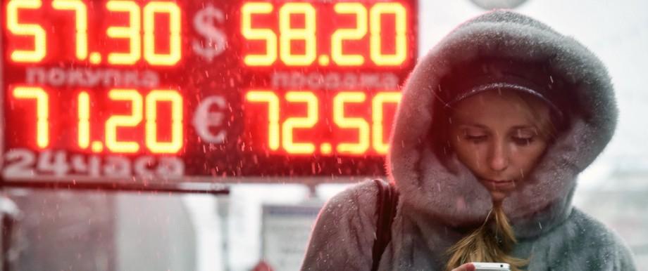 Wirtschaft in Russland Rubel-Krise in Russland