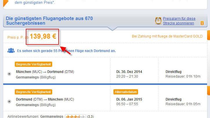 Flugreisen Kostenfallen bei der Online-Buchung von Flügen