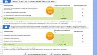 Flugreisen Kostenfallen bei Online-Buchung von Flügen