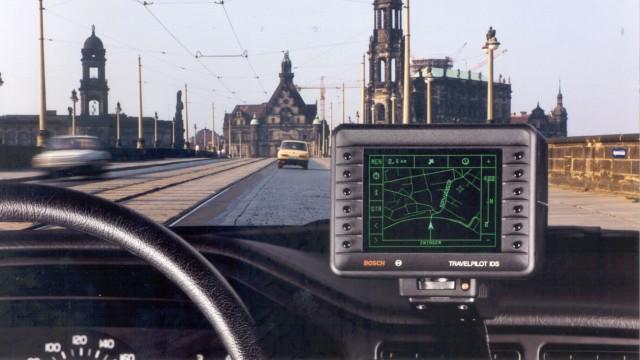 Travel Pilot IDS, das erste Navigationssystem von Bosch.