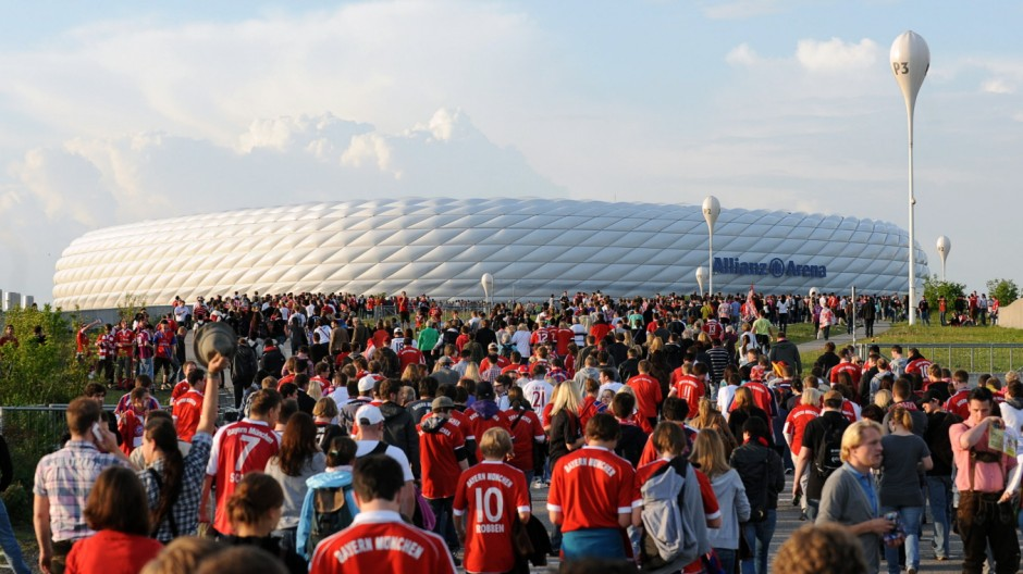 Champions League Finale - Public Viewing in der Allianz Arena