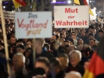 Pegida Demonstrations Continue In Dresden