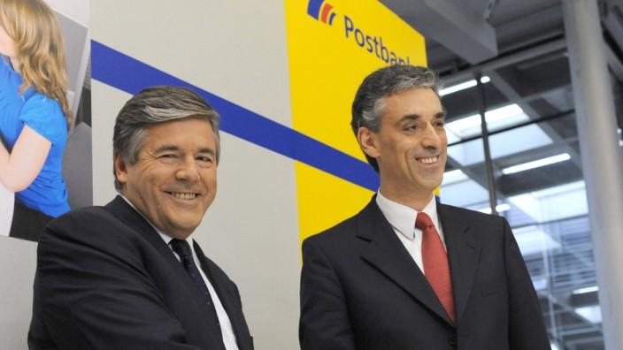 Post und Deutsche Bank