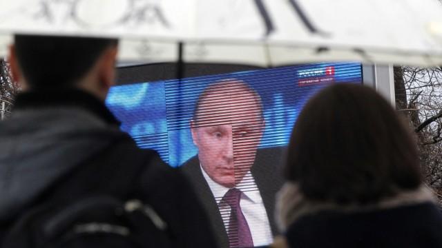 Russland Russland unter Putin