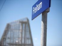 Freiham, ein neuer Stadtteil entsteht im Westen von München, 2014