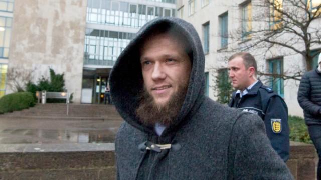 Sven Lau als Zeuge im Stuttgarter Terrorprozess