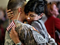 82nd Airborne Troops Return From Deployment To Iraq