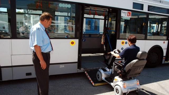 Behinderung Nahverkehr