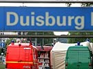 Bluttat in Duisburg (Bild)
