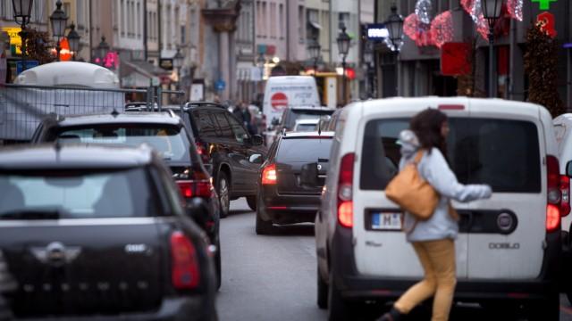 Stau Innenstadt Sendlinger Straße