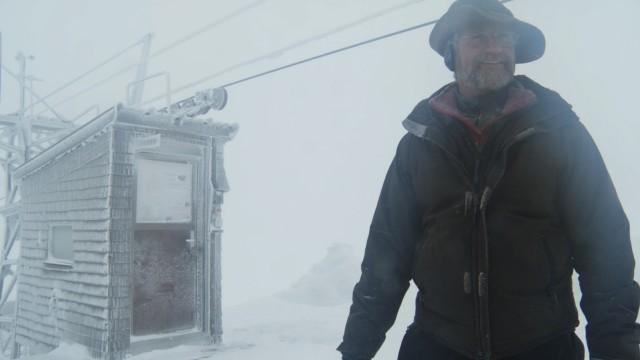 Skigebiet in der Schweiz: Liftwart Kurt Mathis am Haldigrat