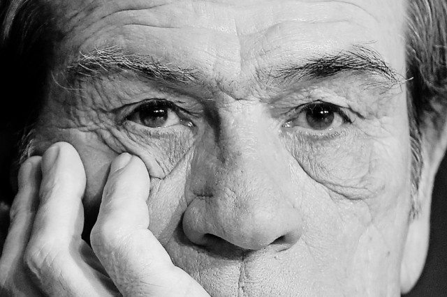 Director and actor Tommy Lee Jones attends a news conference for the film 'The Homesman' in competition at the 67th Cannes Film Festival in Cannes