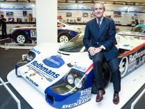 Der ehemalige Rennfahrer Jacky Ickx