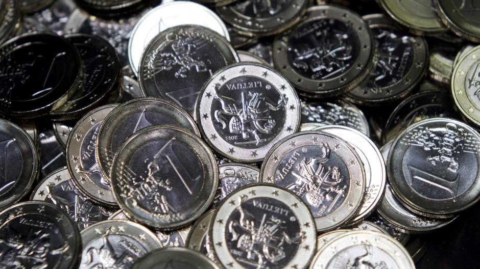 Litauische 1-Euro-Münzen