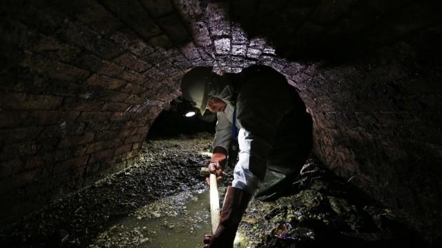 Abwassersystem Londoner Kanalisation