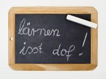 Lernen ist doof