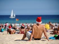 Strandbesucher in Sydney