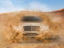 Teaserbild zum geplanten Bentley-SUV