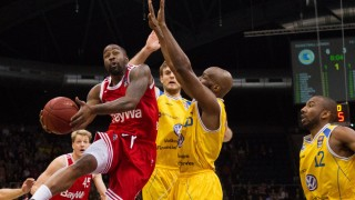 BO MCCALEBB FC Bayern Muenchen Basketball beim Angriff Basketball Löwen Braunschweig vs FC Bayern