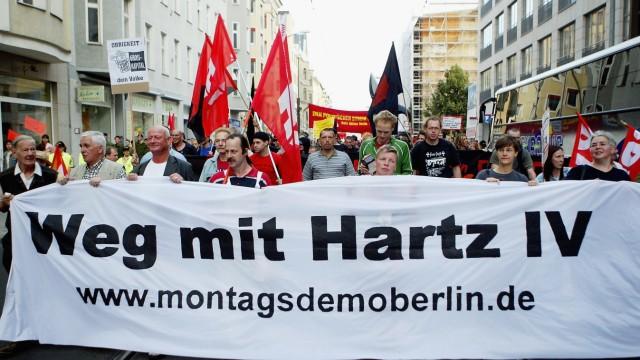 Anti-Hartz IV Protests Continue