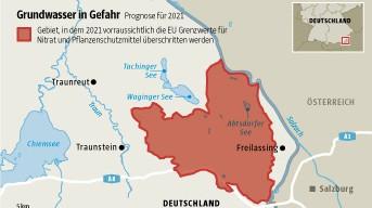 Grundwasser-Grafik Bayern