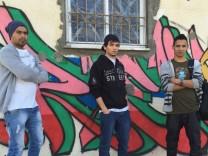 Graffiti Gaza Stadt