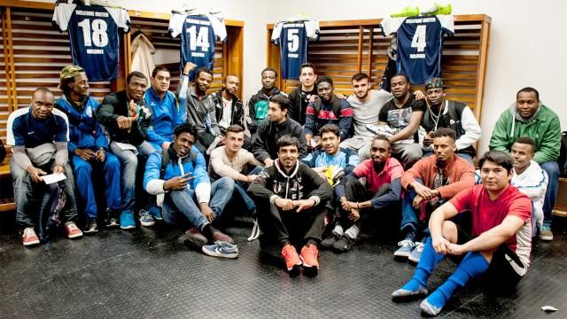 SV Babelsberg Flüchtlinge