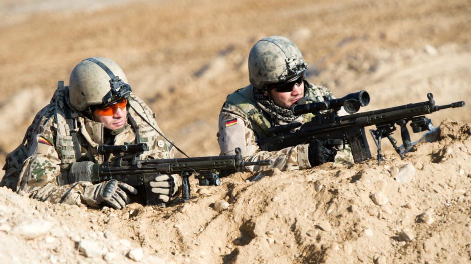 Bundeswehrsoldaten in Afghanistan