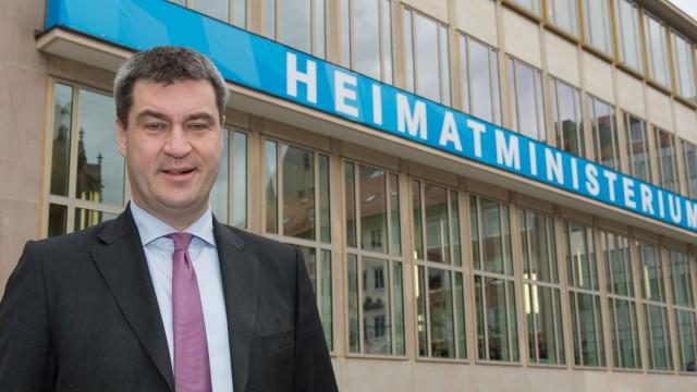 Söder eröffnet bayerisches Heimatministerium