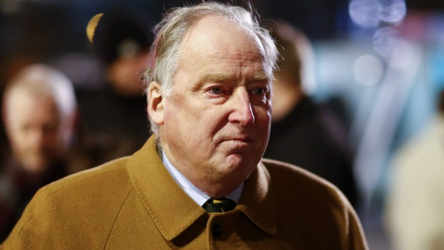 Gauland of AfD party attends a demonstration called by anti-immigration group PEGIDA  in Dresden
