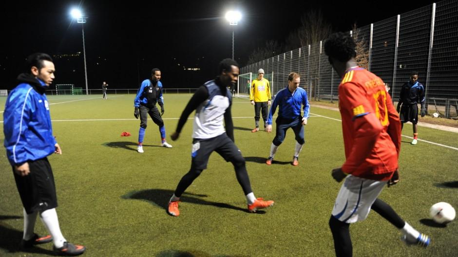 Sport in der Region Integration von Asylbewerbern