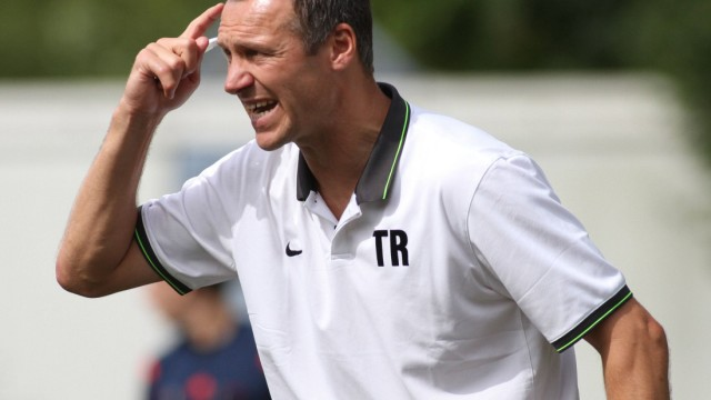 Trainer Michael Hofmann SC Kirchheim Fussball Landesliga Südost 13 07 2014 SV Türk Gücü At