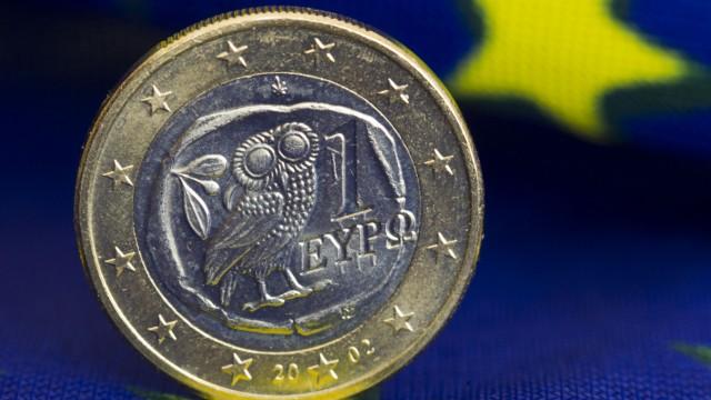 Griechische Euromünze
