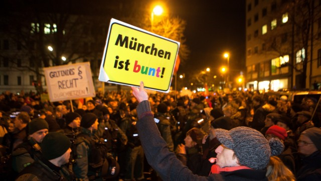 Mügida-Demo am Sendlinger Tor